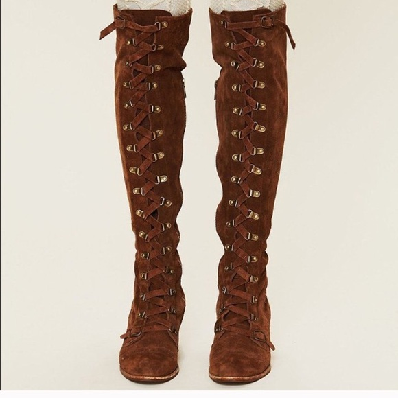 c08ad022cc9 Free People Shoes - Free People Johnny Tall Boots Jeffery Campbell